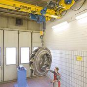 Overhead Cranes - HB Material Handling